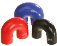 180 Degree Silicone Elbow - 6mm to 102mm ID